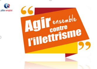 Mobilisation des agents Pôle emploi dans la lutte contre l'illettrisme – Pôle emploi MAROMME (76)