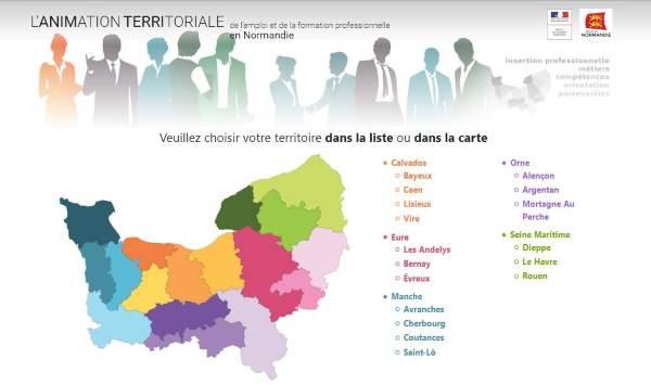 Site de l'animation territoriale : le nouvel outil d'observation et de réflexion partagée sur l'emploi et la formation professionnelle