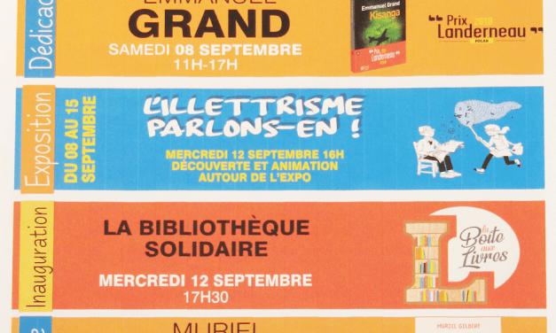Inauguration de la bibliothèque solidaire – Tourlaville Distribution – Galerie marchande E. Leclerc – TOURLAVILLE (50)