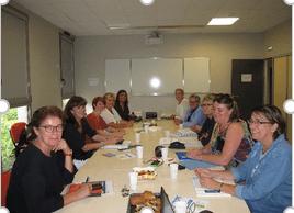 Petit déjeuner – Repérage des personnes – Céfap et Clips – LILLEBONNE (76)