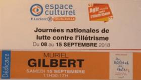 Dictée intergénérationnelle        Galerie marchande E. Leclerc –TOURLAVILLE (50)