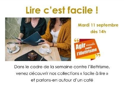 Lire, c'est facile ! – Bibliothèque d'Hérouville-Saint-Clair – HEROUVILLE-SAINT-CLAIR (14)