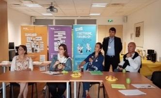 Petit déjeuner de présentation de l'illettrisme à des recruteurs – Pôle emploi Vernon – VERNON (27)