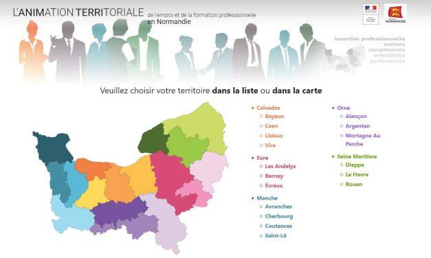 Du nouveau sur le site de l'Animation Territoriale en Normandie !