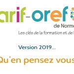 Le Carif-Oref de Normandie vu par ses utilisateurs