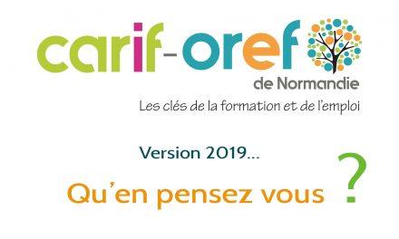 Le Carif-Oref de Normandie en 2019, vu par ses utilisateurs