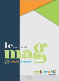 couverture mag emploi formation n° 8